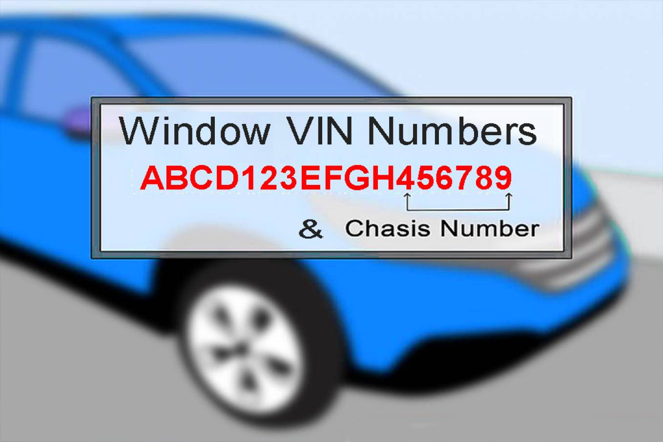 Windows Vin Stickers